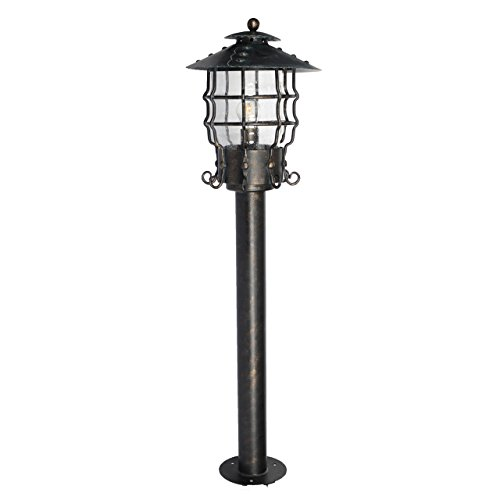 Outdoor Lamp Post With Outlet And Photocell - 8