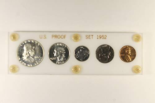 1952 US Mint Proof Set *Plastic Case* Proof