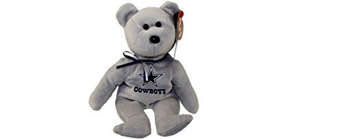 NFL Dallas Cowboys TY Beanie Baby Teddy Bear Plush - Dallas Nfl Cowboys Plush