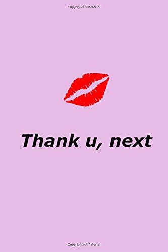 Thank U Next  Ariana Grande Journal Notebook Diary