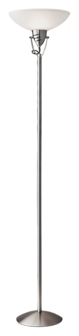 Adesso 3089-22 Hinge Floor Lamp, Smart Outlet Compatible, 10'' x 14'' x 71.25''