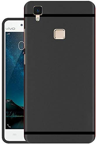 promo code 268f7 77964 FreQuently Express Soft Silicone Back Cover for Vivo V3 Max (Black)