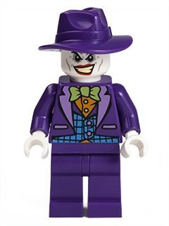 LEGO DC Comics Super Heroes Batman Minifigure - Joker with Wide-brim Hat (76013)