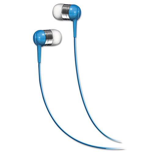 Maxell 190282 Stereo Earbud (No Mic) - Blue