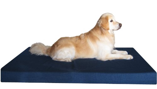 Dogbed4less 55x47x4-Inch Orthopedic Memory Foam Dog Bed with