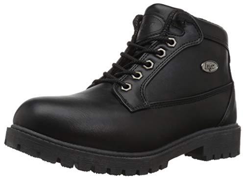(Lugz Women's Mantle Mid Fashion Boot Black 7.5 M US)