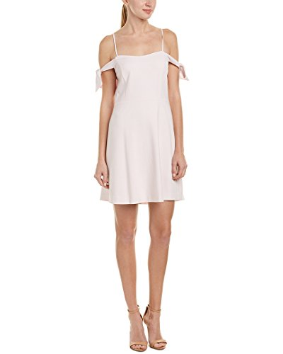 kensie-womens-stretch-crepe-cold-shoulder-dress-sugar-pink-s