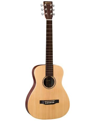 Martin LX1E Acoustic Guitar W/ Fishman Sonitone electronics Solid Sitka spruce top Modified O-