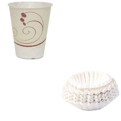 Trophy Foam (KITBUN1M5002SLOOFX12NJ802CT - Value Kit - Solo Symphony Design Trophy Foam Hot/Cold Drink Cups (SLOOFX12NJ802CT) and Bunn Coffee Commercial Coffee Filters (BUN1M5002))