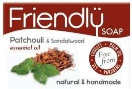 Friendly Soap Natural Patchouli & Sandalwood Soap  5 x 95g
