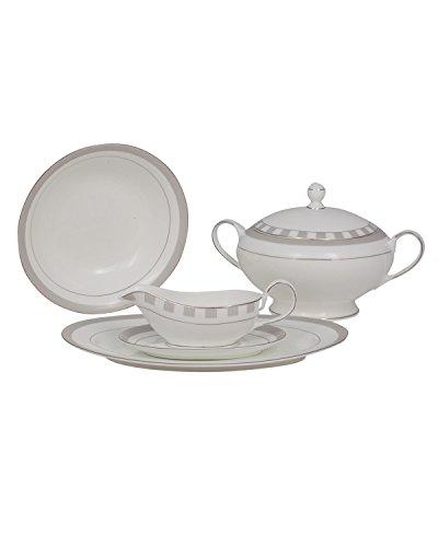 Ceramic Tureen (SPECTRUM  BONE CHINA SPECIAL SERVING SET)