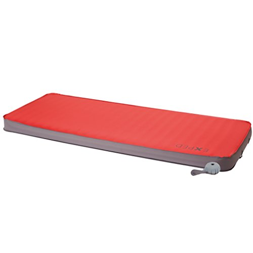 Exped Megamat 10 Insulated Self-Inflating Sleeping Pad, Ruby Red, Medium Wide