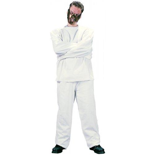 Fun World Men's Maximum Restraint, White, STD. Up to 6' / 200 lbs ()