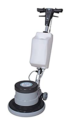 Industrial Floor Polisher Machine with (1 Tank + 2 Brushes + 1 Pad Holder + 3 Pads) ,1.5 HP