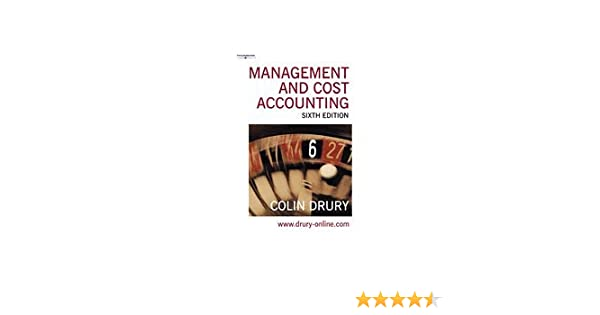 Management and cost accounting management cost accounting colin management and cost accounting management cost accounting colin drury 9781844800285 amazon books fandeluxe Images