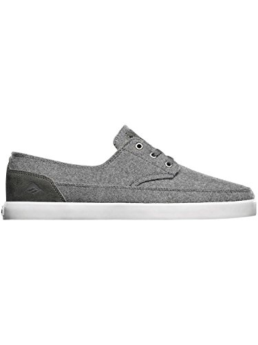Troubadour Skateboarding Low Shoe Emerica Men's White Gum Grey 5t4wz1zxq