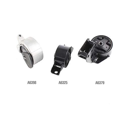 DNJ MMK1053 Complete Engine Motor & Transmission Mount kit for 1995-1999 / Nissan/Sentra, 200SX / 1.6L / Auto Trans / 3PCS ()