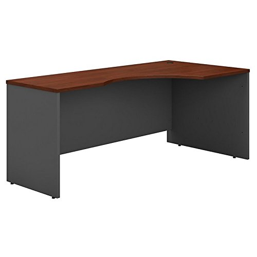 Bush Business Furniture Series C 72W Right Handed Corner Desk in Hansen - Table Corner Right Extended