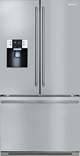 "Smeg FTU171X7 36"" Energy Star French Door Refrigerator with"