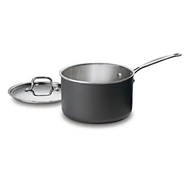 Cuisinart MCU194-20 MultiClad Unlimited Dishwasher-Safe 4-Quart Saucepan with Cover