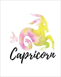 Capricorn: Lined Journal Yellowish Pink: My Astrology