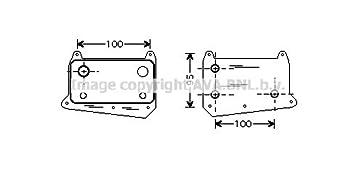 6461880301 6121880101 C-Klasse// E-Klasse Ölkühler Neu Mercedes MB 6111880301