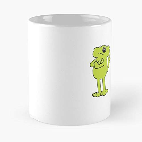 - Roobarb Rhubarb Custard And - 11 Oz Coffee Mugs Unique Ceramic Novelty Cup, The Best Gift For Holidays.