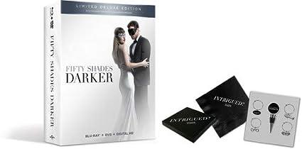Amazon Com Fifty Shades Darker Giftset Blu Ray Dakota Johnson Jamie Dornan Eric Johnson Movies Tv