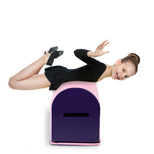 BELUPAI Gymnastics Mailbox Tumbling Aid Trainer, Tumbling Mat Mailbox Tumbling Trainer Gymnastics Equipment for Home
