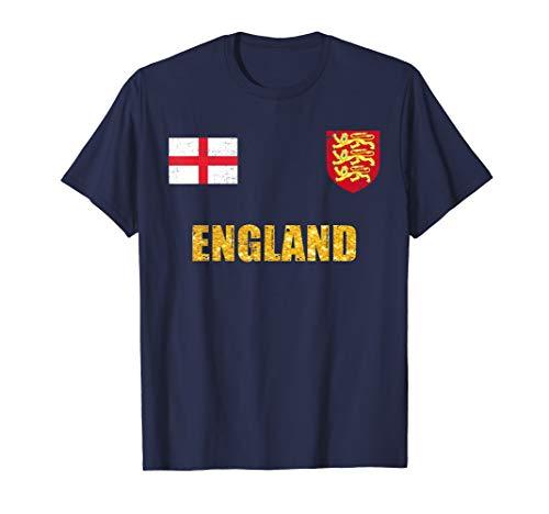 - England Soccer Jersey World Shirt Cup Football Fan Flag Gift