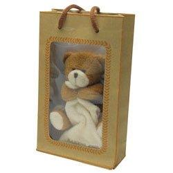 BABY BEAR/BLANKET 4PLUSH IN GIFT BAG