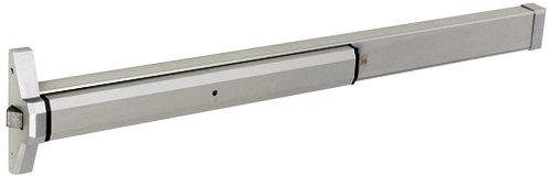Global Door Controls 36 in. Aluminum Narrow Stile Rim Type Exit Device