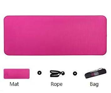 EVEYYGD Esterilla de Yoga Antideslizante 10mm Multifuncional ...