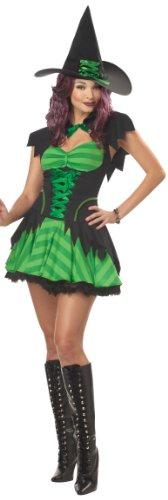 [California Costumes Women's Hocus Pocus Costume, Black/Green, Small] (Hocus Pocus Halloween Costumes)