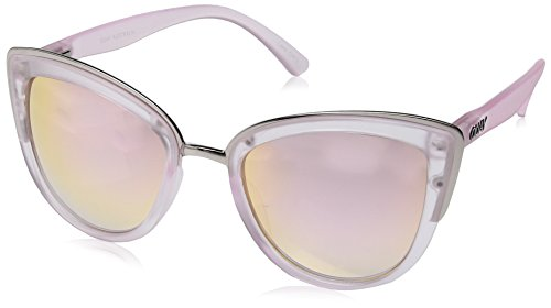 Quay Women's My Girl Sunglasses, Pink/Pink, One - Australia Sunglasses Surf