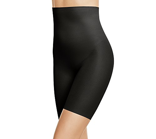 Wacoal Women's Zoned 4 Shape Hi-Waist Long Leg Shaper, Black, Large