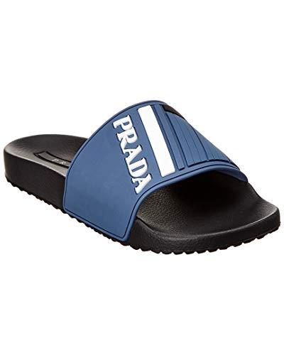 Sports Prada Shoes - Prada Rubber Slide, 8 UK, Blue