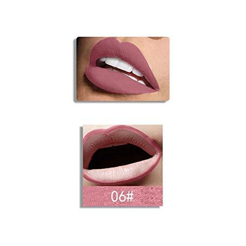 aac61dd22fe6 Generic Miss Rose Lipstick & Lipliner Set Silky Matte Lip Stick Waterproof  Nude Lip Liner Soft Long-wearing Beauty Cosmetics Kit 06