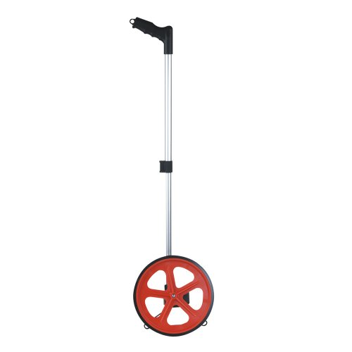 Kapro 600-10 Dual Graduation Layout and Marking Measuring Wheel with Handle, 10-Inch Diameter