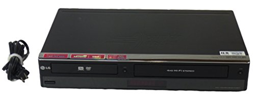 LG RC897T Multi-Format DVD Recorder and VCR Combo with Digit
