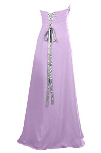 Toscana vestido novia sencilla en forma de corazón por la noche vestidos de fiesta vestidos de Gasa de largo bola duro morado