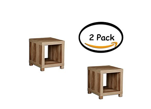 PACK OF 2 - Better Homes and Gardens Accent Table, Multiple Colors, Size:, Actual Color: Weathered