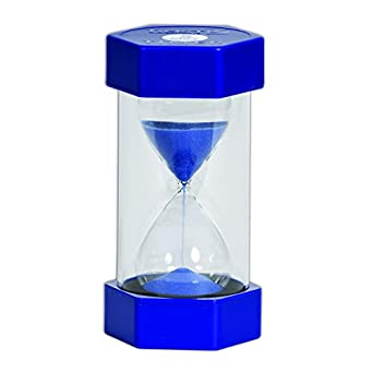 amazon com tickit 9504 sand timer 5 minutes blue industrial