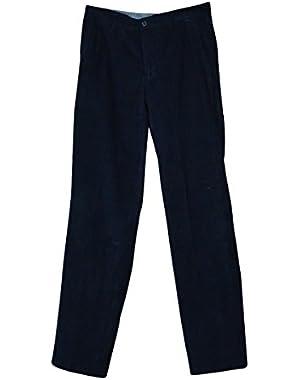 Men's Corduroy Deck Pants (30X32, Navy)