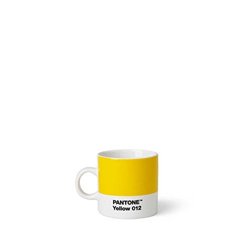 Pantone 101040012Ceramic Espresso Cup 6.20x 8.60x 6.15cm, Ceramic, Yellow, 6,20 x 8,60 x 6,15 cm