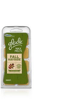 New Johnson Glade Wax Melts Fall Hayride , 8 Ct.