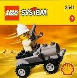 LEGO 2541 Shell Adventurers Egypt Set, Adventures Car/Buggy with Baron von Barron Minifig