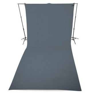 Westcott 9' x 20' Neutral Gray Wrinkle Resistant Backdrop (2.7 x 6 m)