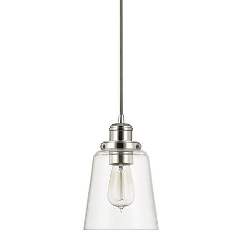 Capital Lighting 3718PN-135 One Light (Urban Polished Lighting)