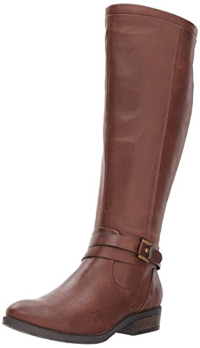 BareTraps Women's Bt Yvonna Riding Boot, Brush Brown